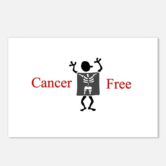 Cancer Free Postcards (Package of 8)