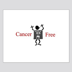 Cancer Free Small Poster