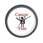 Cancer Free Wall Clock