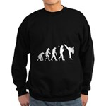 Evolution of Tae Kwan Do Sweatshirt (dark)