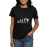 Evolution of Tae Kwan Do Women's Dark T-Shirt