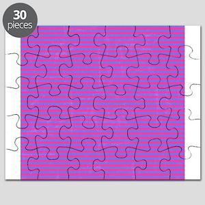 Purple Horizontal Stripes Puzzle