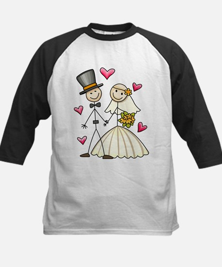 Bride and Groom Kids Baseball Jersey