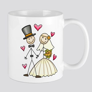 Bride and Groom Mug