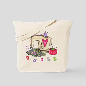 Quilt Tote Bag