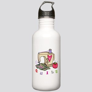 Quilt Stainless Water Bottle 1.0L