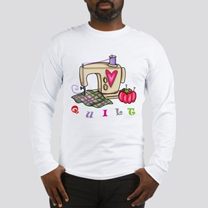 Quilt Long Sleeve T-Shirt