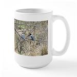 Kingfisher Couple Large Mug