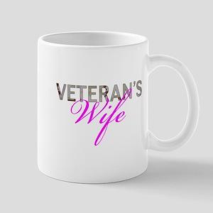 DCU Army Vet Wife Mug