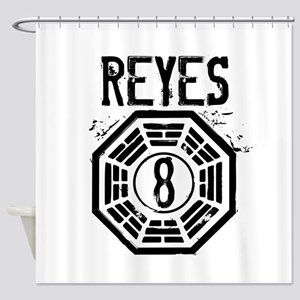 Reyes - 8 - LOST Shower Curtain