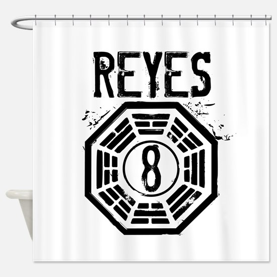 Reyes - 8 - LOST Shower Curtain