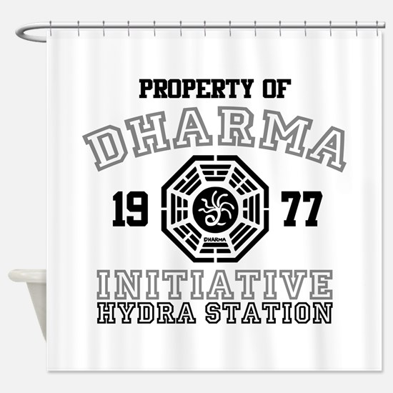 Property of Dharma - Hydra Shower Curtain