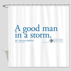 Good Man - Grey's Anatomy Shower Curtain