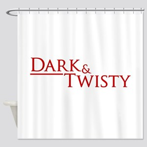 Dark & Twisty Shower Curtain