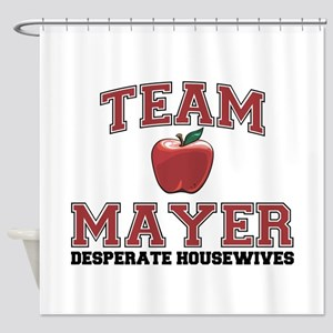 Team Mayer Shower Curtain
