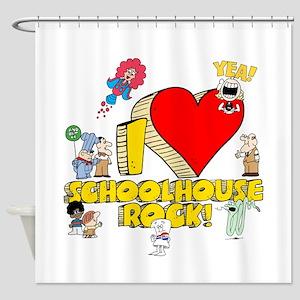 I Heart Schoolhouse Rock! Shower Curtain