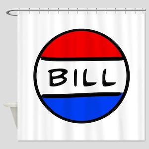 Bill Button Shower Curtain