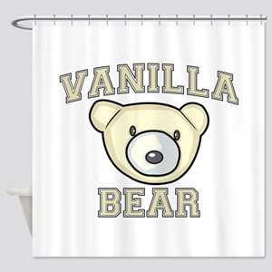 Vanilla Bear Shower Curtain
