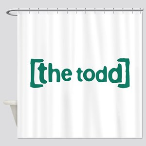 The Todd Shower Curtain