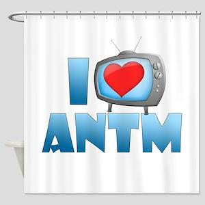 I Heart ANTM Shower Curtain