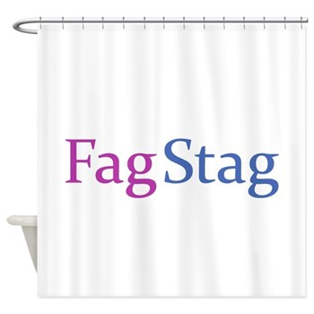 Fag Stag Shower Curtain