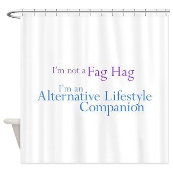 Alternative Lifestyle Compani Shower Curtain