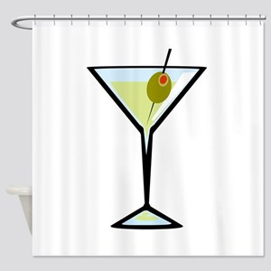 Dirty Martini Shower Curtain