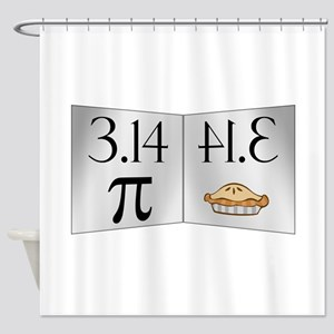 PI 3.14 Reflected as PIE Shower Curtain