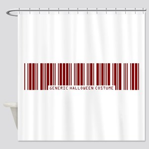 Generic VAMPIRE Costume Shower Curtain