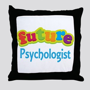 Future Psychologist Throw Pillow
