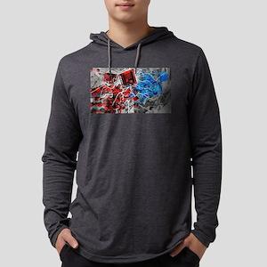Cubulartiy Mens Hooded Shirt