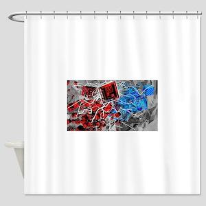 Cubulartiy Shower Curtain