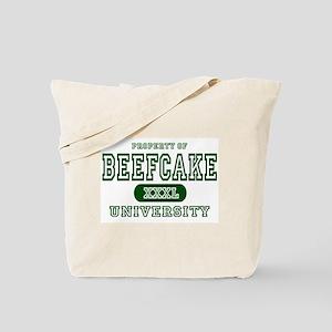 Beefcake University Tote Bag