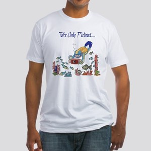 Take Only Pictures Fitted T-Shirt