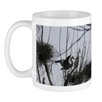 Heron Dropping In Mug