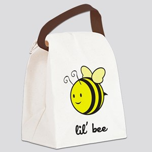 bee_7x7_apparel Canvas Lunch Bag