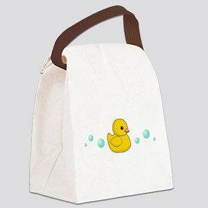 Rubber Duck Canvas Lunch Bag