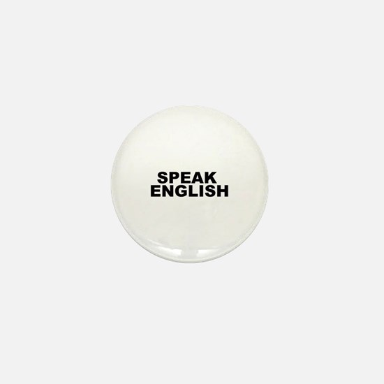 Speak English Mini Button