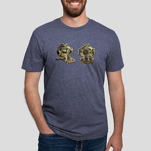 Diving Helm Mens Tri-blend T-Shirt