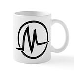 Black Logo Graphic Mug