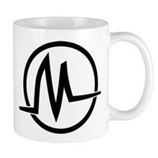 Black Logo Graphic Mug