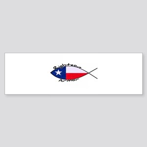 Texas fish Sticker (Bumper)