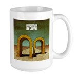 Mountain of Love Album Front Cover Large Mug