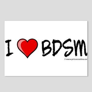 I HEART BDSM Postcards (Package of 8)
