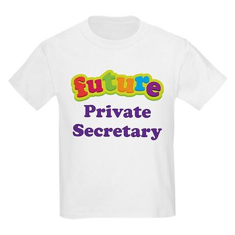 Future Private Secretary Kids Light T-Shirt