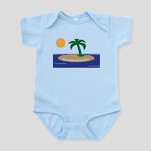 Island Beach Saying Infant Bodysuit