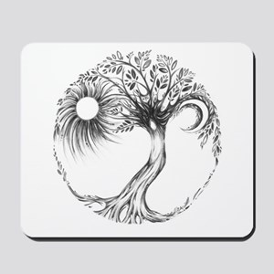 Tree of Life by Liza Paizis Mousepad