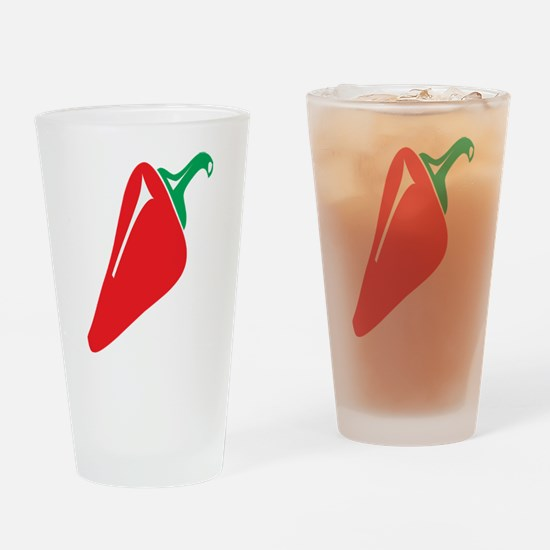 Red Pepper Drinking Glass