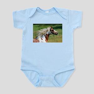 My Paint Horse Profile Infant Bodysuit