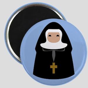 Cute Nun Magnet